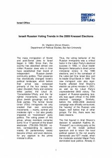 Russian Voting Trends