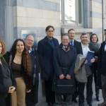 Israeli Researchers in Brussels Feb 2015