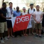 משלחת של חברי הסתדרות מדרמניה לביקור בישראל יוני 2015
