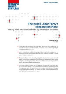 The Israeli Labor Partys Separation Plan