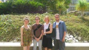 מתמחים ממשרדי קרן אברט בירושלים מבקרים בקרן אברט בהרצליה