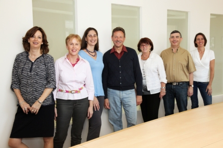 FES Israel Staff, November 2015