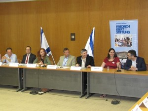 """Policy for Young Adults"" with MK Stav Shafir, Knesset, 27 May 2014"