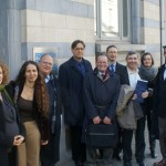 Israeli Researchers in Brussels Feb 2015