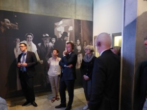 Oppermann Delegation in Yad Vashem 2, May 2015