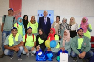 EU Ambassador with Students