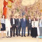 Oppermann Delegation Knesset May 2015