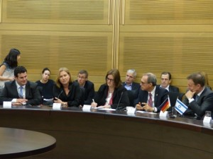 Zipi Livni meeting with Oppermann Delegation, May 2015