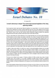 Israel Debates 10