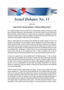 Israel Debates 11