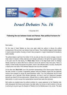 Israel Debates 16