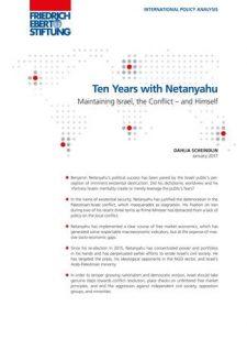 Ten Years Netanyahu