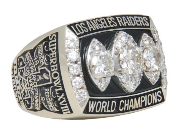 Raiders SuperBowl 1984 ring