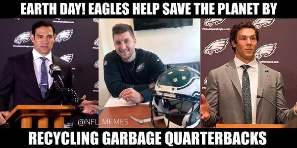 Eagles QBs