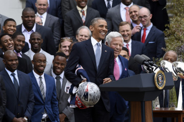 Barack Obama, Robert Kraft