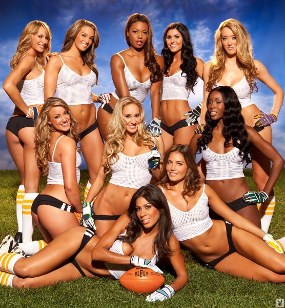 Lingerie Football League - Cover