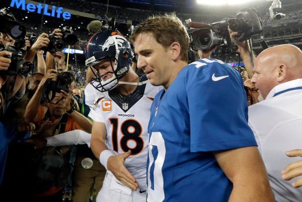 Payton Manning Eli Manning