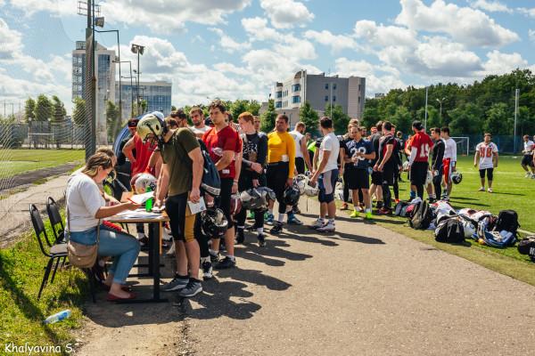 Кандидаты в сборную России на отборочном лагере в Ярославле. Фото Светланы Халявиной