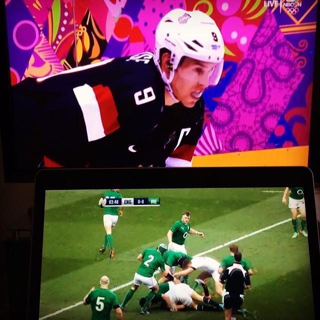 хоккей на олимпиаде и ирландия рэгби