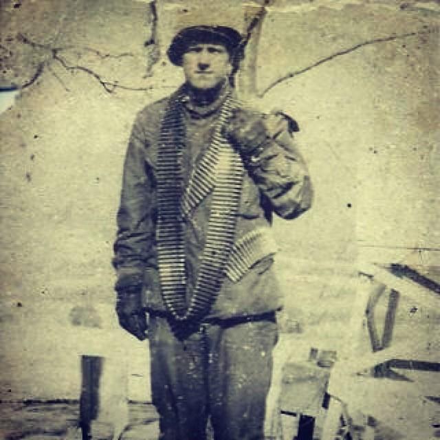 Дедушка корейский ветеран
