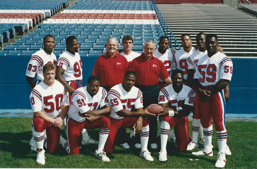 Patriots Linebackers - 1991