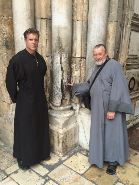 With Papa Joe - Holy Sepulchre