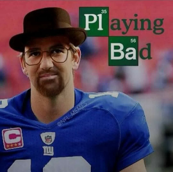 Eli manning meme