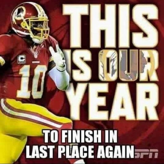 Redskins Meme