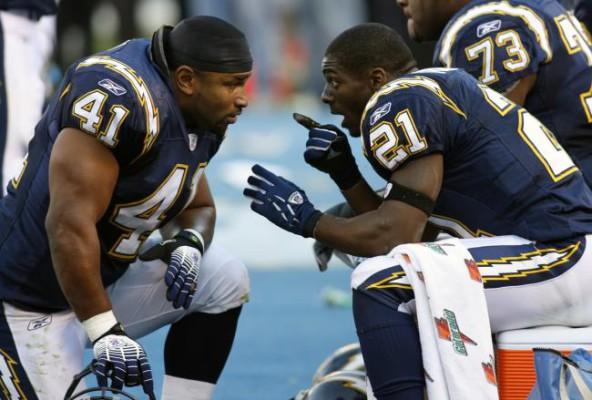 Нил и Томлинсон играли в связке большую часть карьеры. Фото Denis Poroy/Associated Press/Associated Press