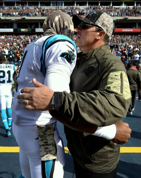 cam & ron rivera