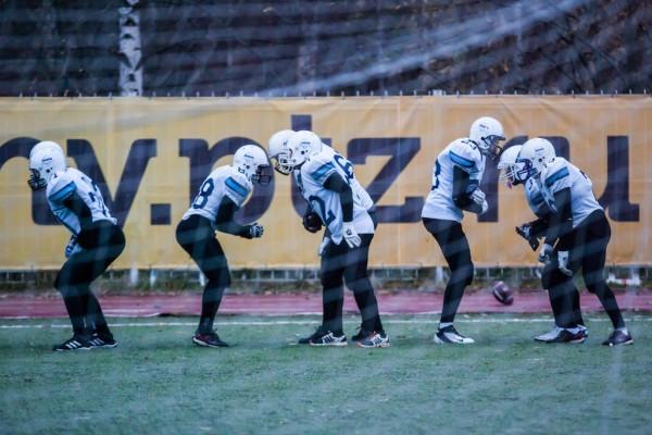 Футболисты мурманских «Айсбергов». Фото: Игорь Подгорный