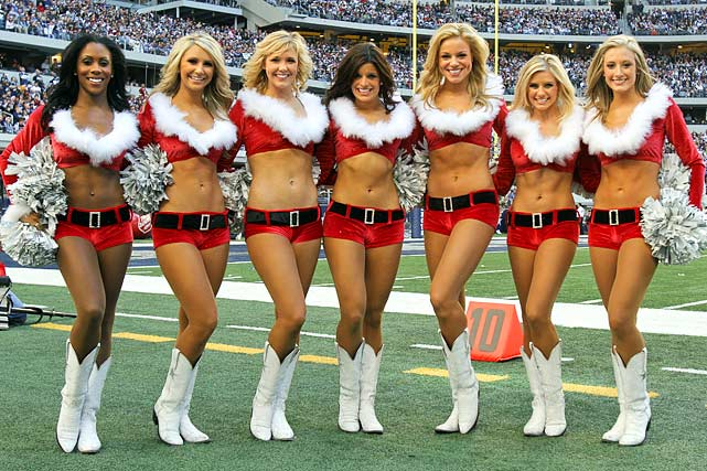 Cowboys Christmas Cheerleaders