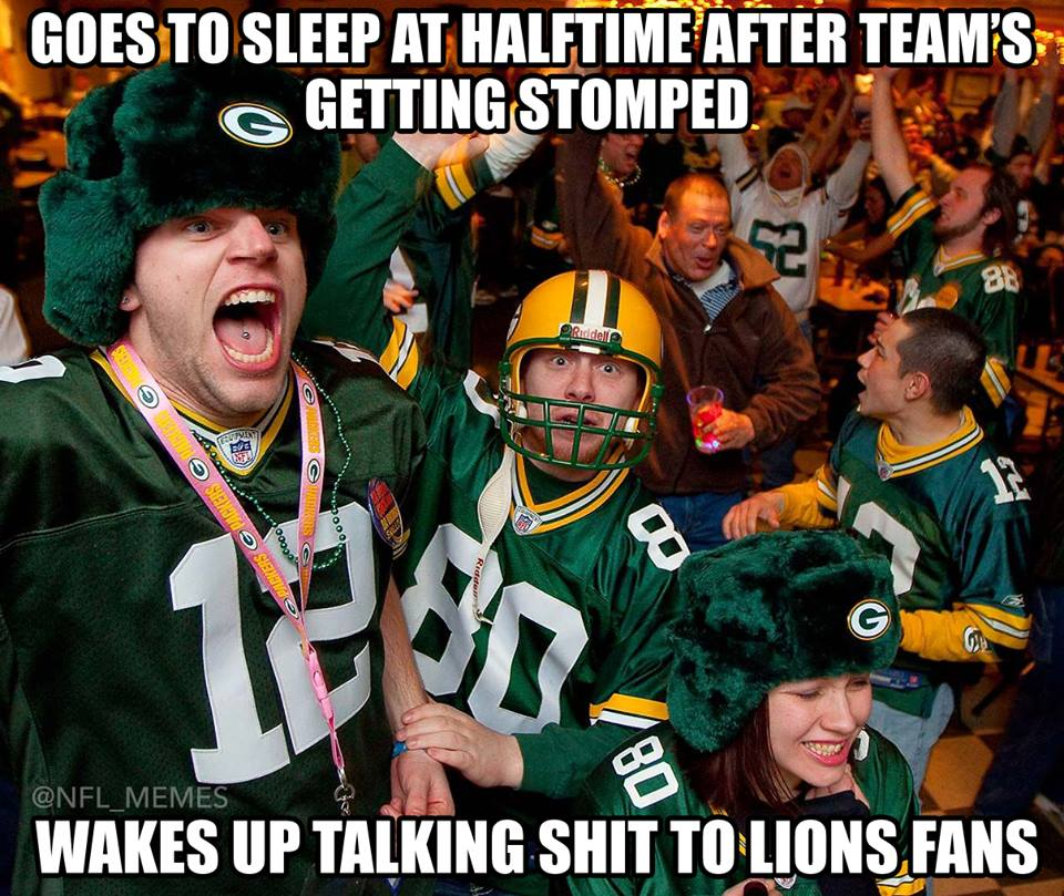 Green bay packers meme