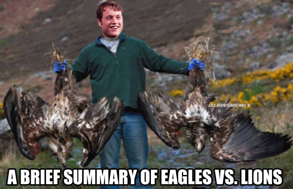 Matt stafford eagles meme