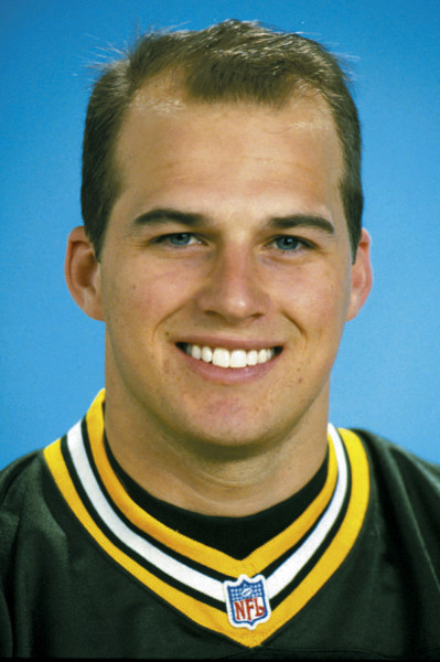 Green Bay Packers quarterback Matt Hasselbeck poses for the 1998 team headshot. (AP Photo/NFL Photos)
