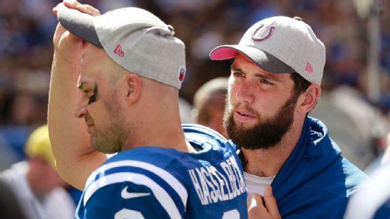 Кто поведет за собой Кольтс в дивизиональной битве на 15 неделе? Фото AP Photo/R Brent Smith