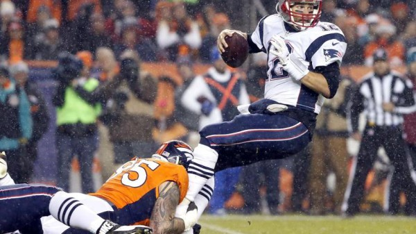 brady sacked by Derek Wolfe Joe Mahoney
