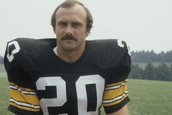 Rocky Bleier, football player for the Pittsburgh Steelers, 1979. (AP Photo)