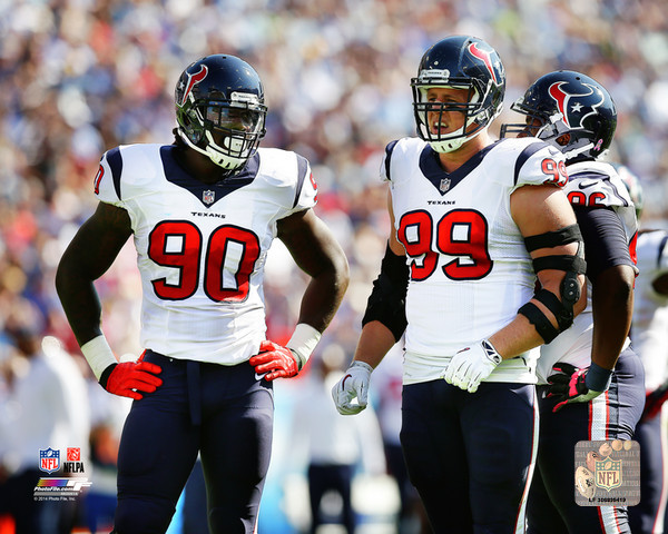 jj watt and jadeveon clowny
