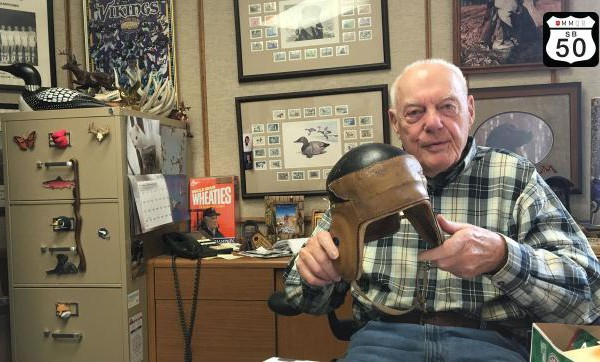 bud-grant-in-office-with-sticker