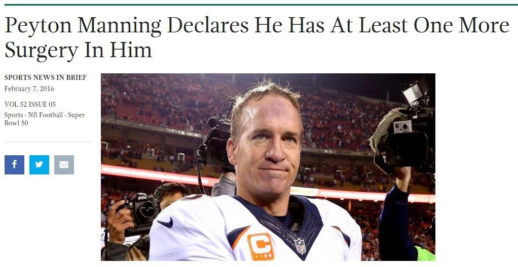 Payton Manning meme