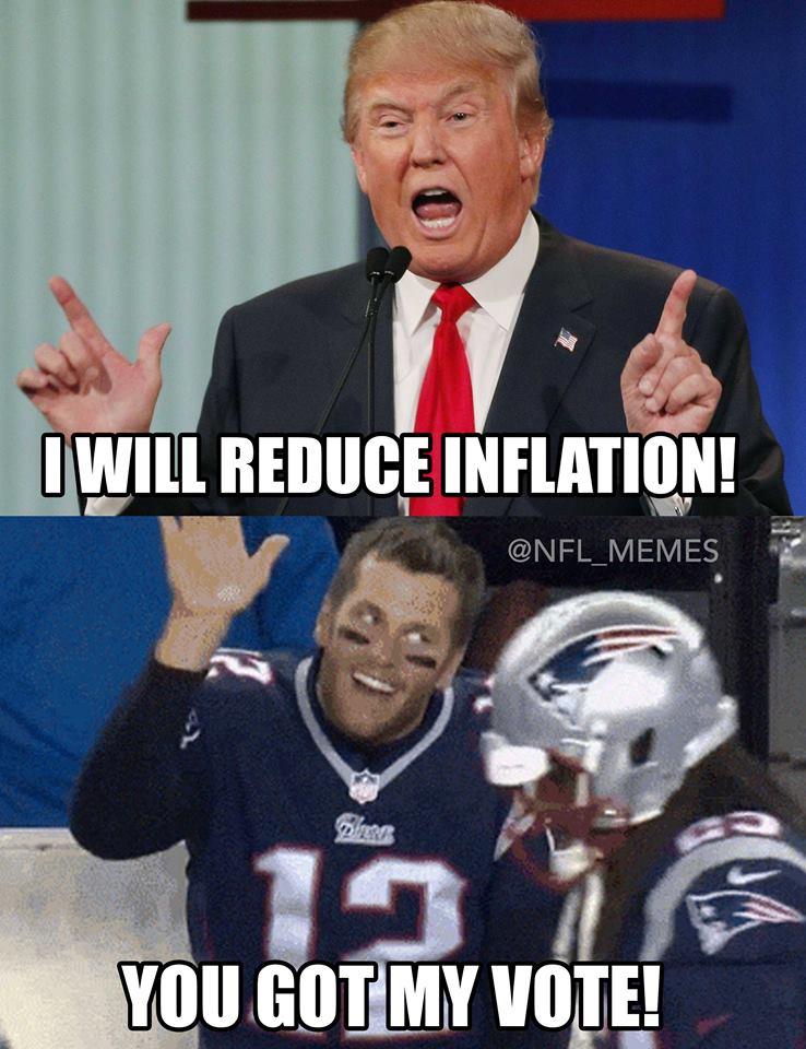 brady trump meme