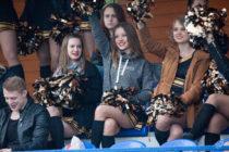 Групп поддержки московских «Спартанцев«, 21 мая 2016. Фото: Михаил Клавиатуров (First & Goal)