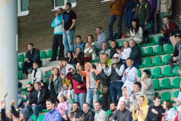 ЛАФ-2016. Плей-офф. 1/8 финала. Болельщики «Северного Легиона». Фото: Леонид Анциферов / First & Goal