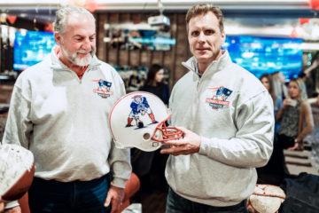 Питер Брук и Илья Ярощук на открытии ресторана Patriots. Фото: пресс-служба Dr. Loder