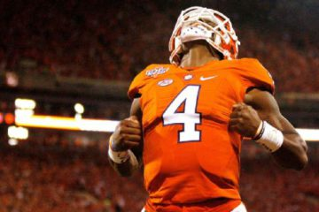Deshaun Watson's Clemson Tigers are one of six ACC teams ranked in the AP Top 25 this week. Tyler Smith/Getty Images
