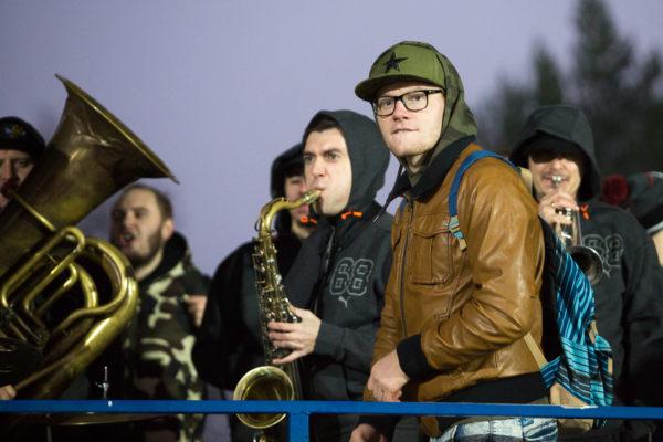 Оркестр Tinto Brass на финале ЛАФ–2016. Фото: Василий Повольнов