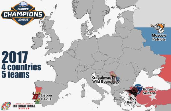 Лига Чемпионов ИФАФ Европа 2017