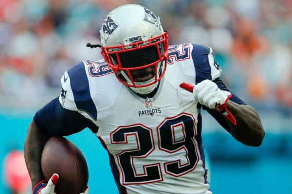 LeGarrette Blount ran for 18 touchdowns in 2016 and his 2016 salary could max out at just $1 million. Reinhold Matay-USA TODAY Sports