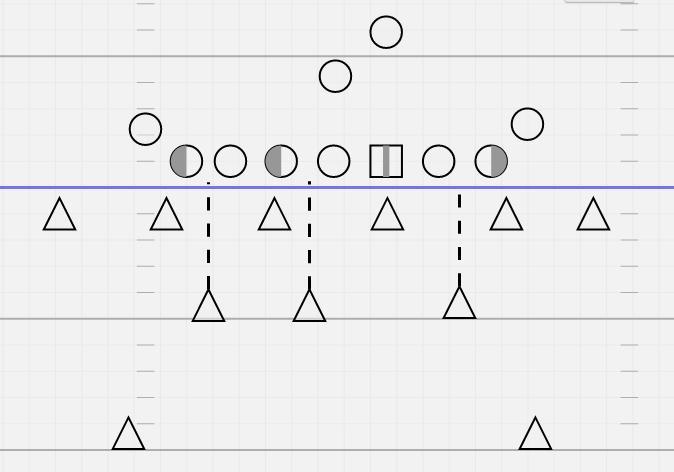 Защита 6–3–2 с разбором блокировщиков нападения входом— прародитель современной 4–3